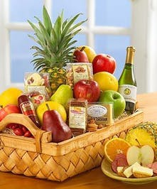 Fruit & Gourmet Table Basket