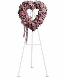 Rose Garden Heart Display