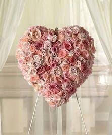 Stunning Memorial Heart