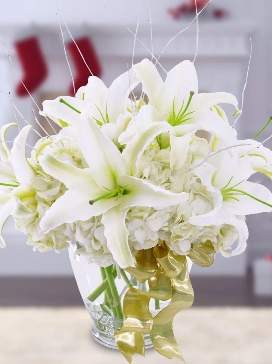 Wilmington Nc Winter Flowers Decoration Delivery