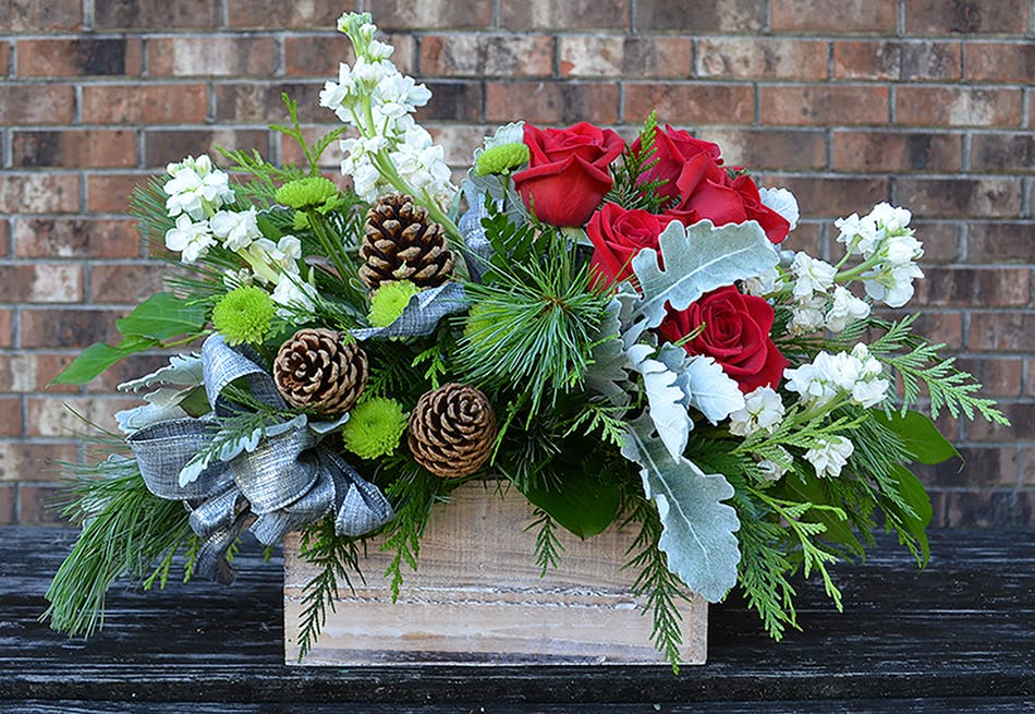 Wilmington nc holiday centerpiece delivery
