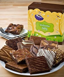 Welcome Baby Brownie Dozen