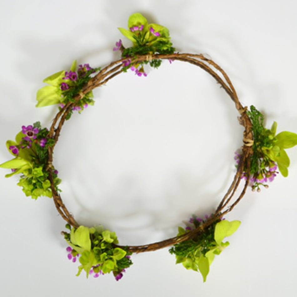 Woodland floral crown wilmington nc florist woodland floral crown izmirmasajfo