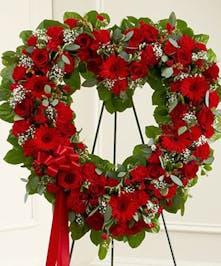 Funeral Heart Design