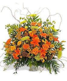 Nature In Bloom Head or Foot Display