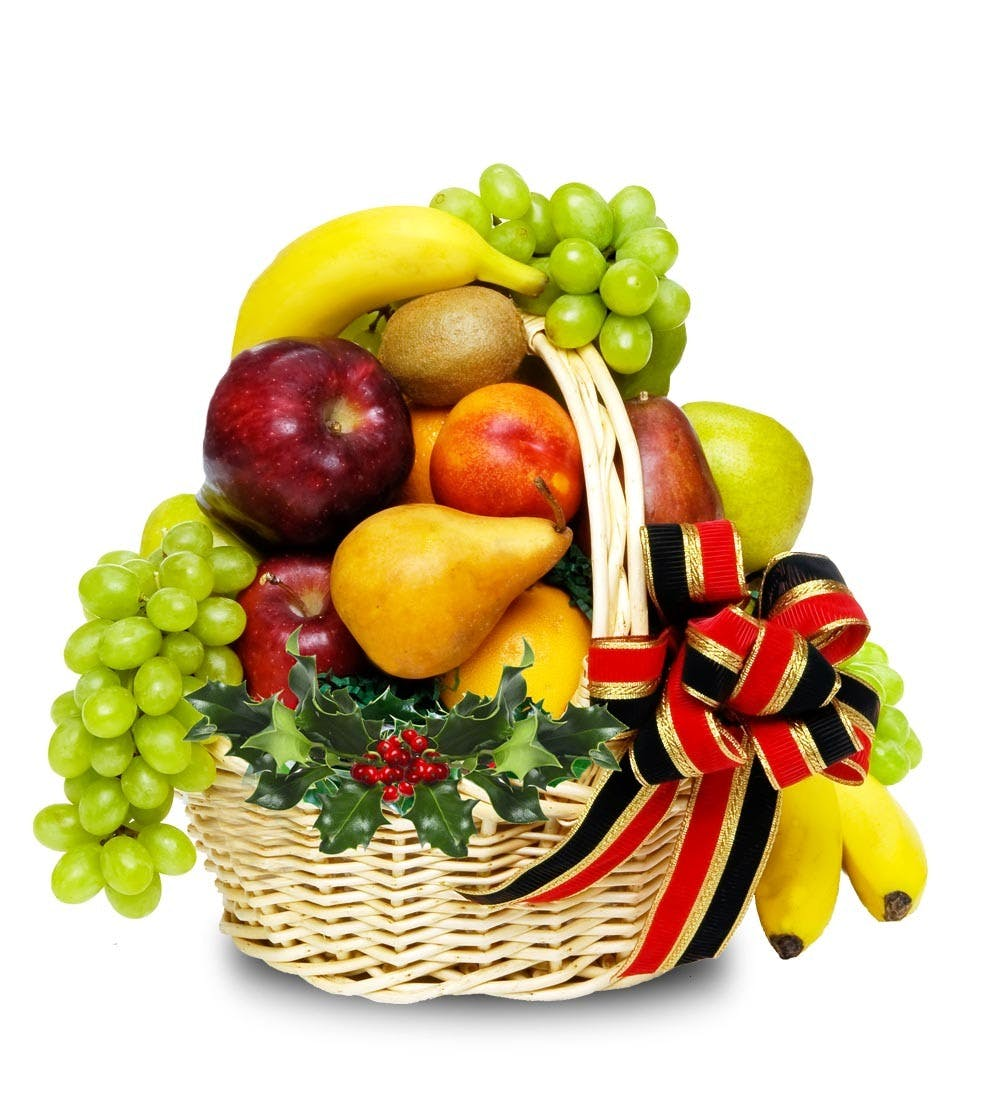 Holiday Fruit Basket | Wilmington, NC | Julia's Florist